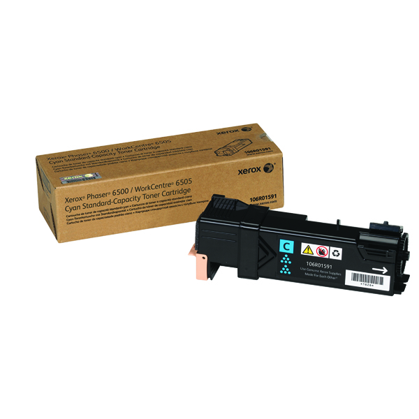 Xerox Phaser 6500 Cyan Toner Cartridge 106R01591