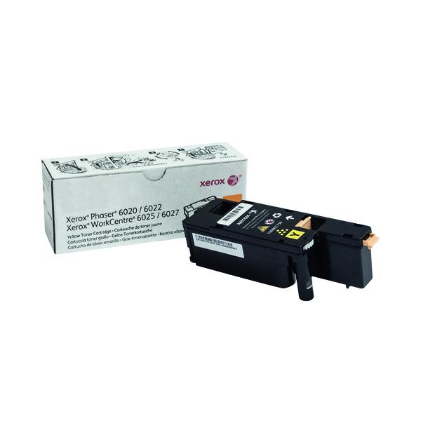 Xerox WorkCentre 6025/6027 Yellow Toner Cartridge 106R02758