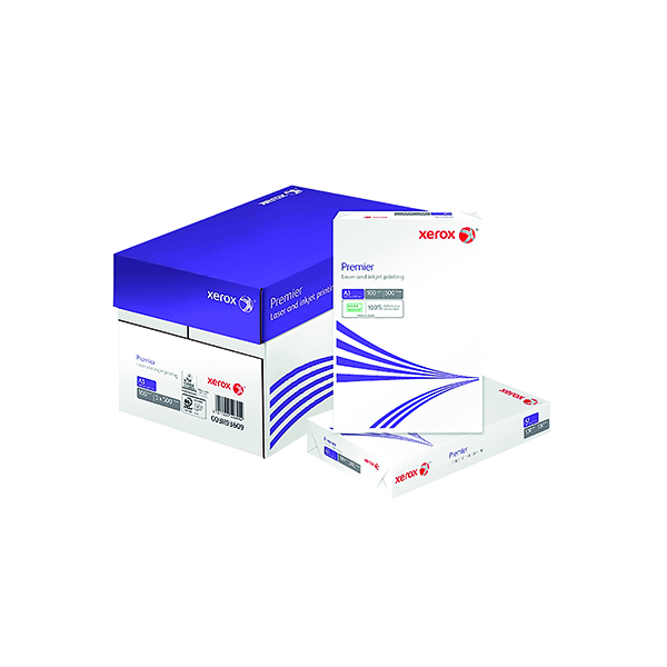 Xerox A3 Premier Copier 100gsm White (Pack of 500) 003R93609