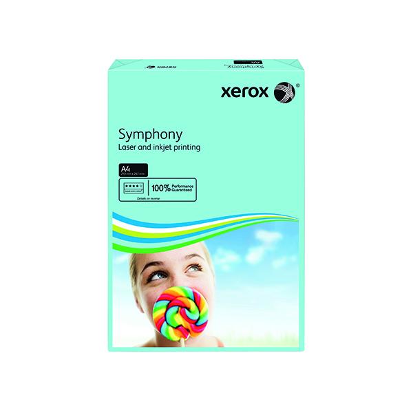 Xerox Symphony Medium Tints Mid Blue Ream A4 Paper 80gsm 003R93968 (Pack of 500)