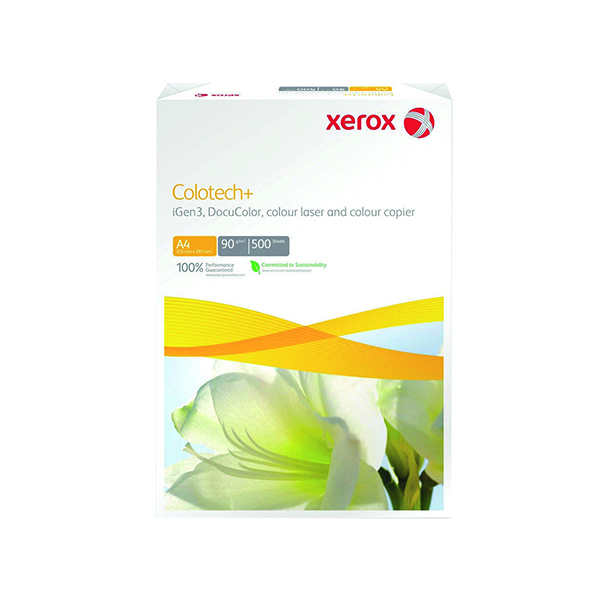 Xerox Colotech+ A4 Paper 120gsm White Ream 003R98847 (Pack of 500) 003R98847
